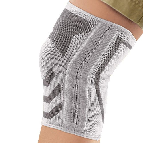 ACE Knitted Knee Brace with Side Stabilizers, best knee brace for basketball players in america, best knee support for players, top knee brace support for jumping players