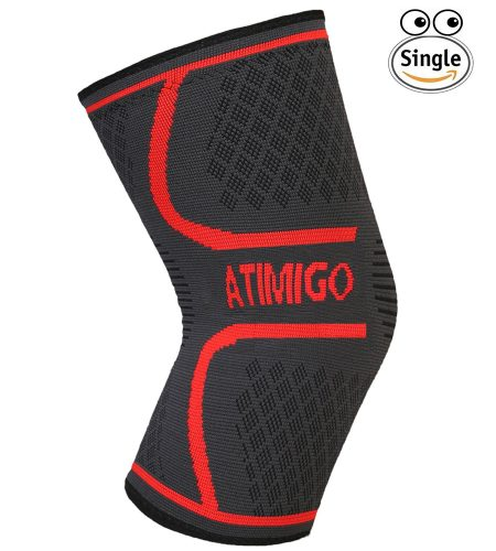 ATIMIGO Knee Brace Compression Sleeve Support, best knee brace for gymnast, top knee support for athletics and gymnast in america