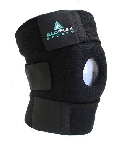 AllyFlex Knee Brace Open Patella Stabilizer, best knee brace for jumping, best knee brace for basketball players, best knee brace support for players and athletes in america