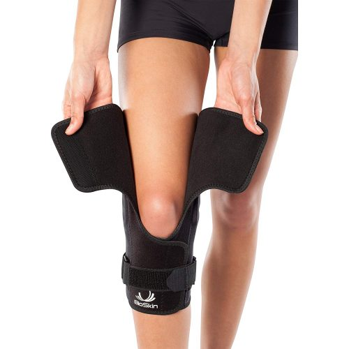 Hinged Knee Brace – Compression Knee Sleeve, best knee brace for cheerleaders, top knee support for cheerleaders