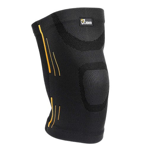 JBM Adult GYM Knee Braces Support Compression Sleeve, best knee brace for bikers in america, top knee brace support for biking.