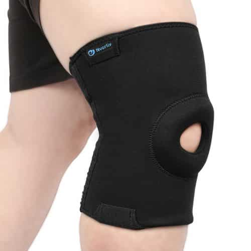 best knee brace for wakeboarding, top knee brace support compression sleeve for wakeboarding in america