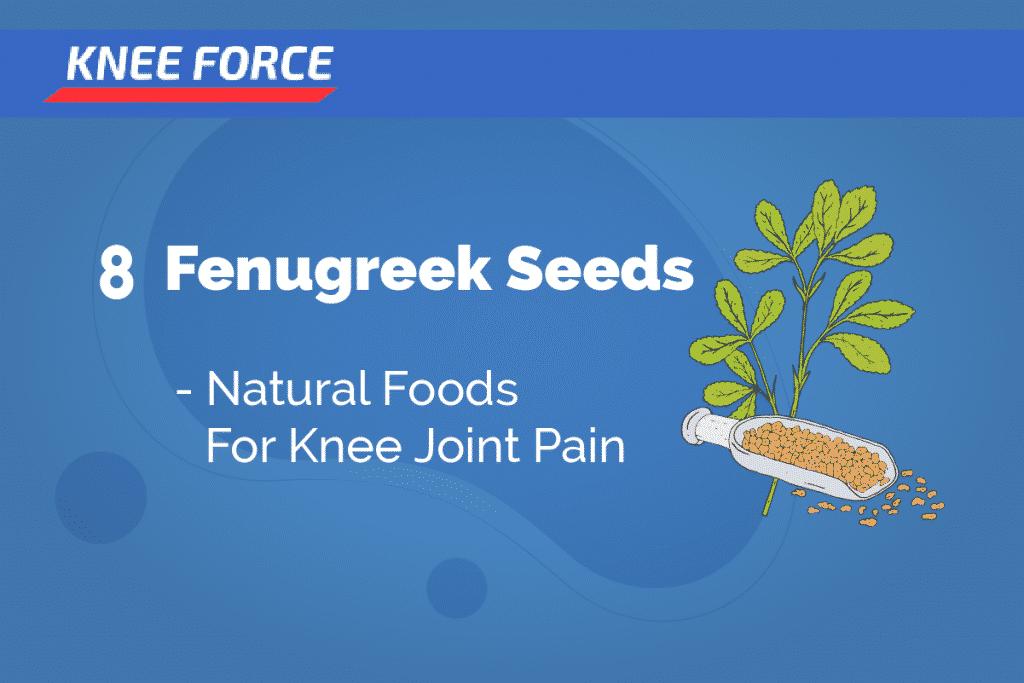 FENUGREEK SEEDS - Food for Knee Pain Relief