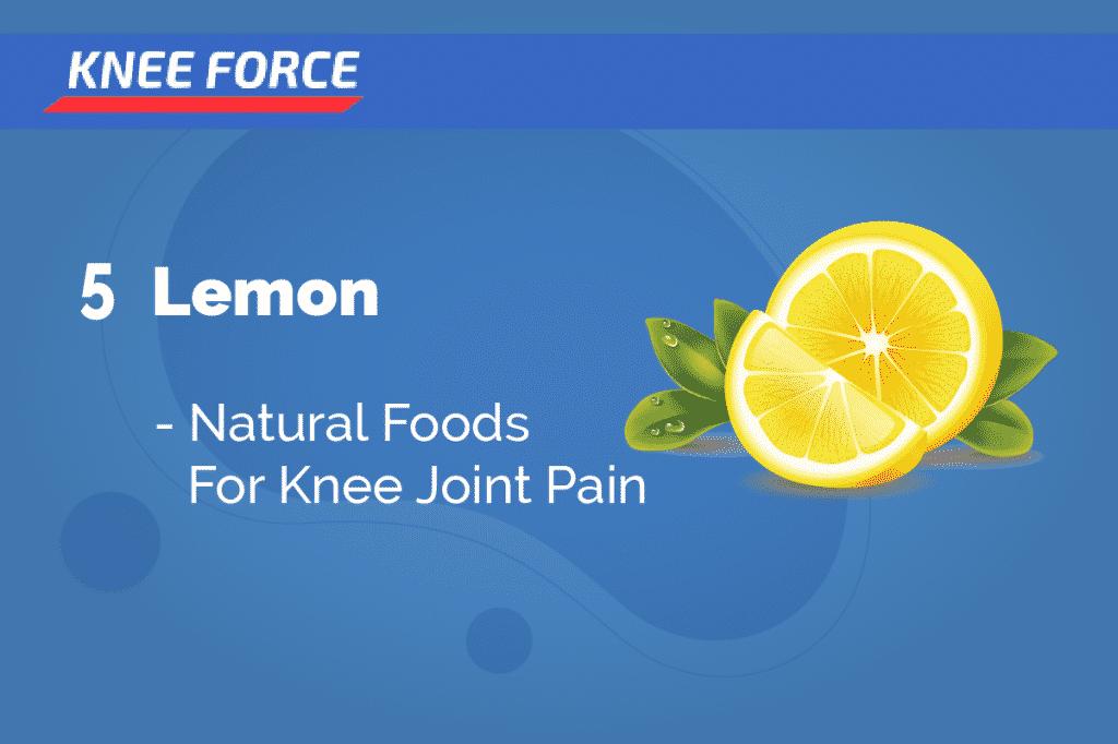 Lemon - Foods To Reduce Knee Pain