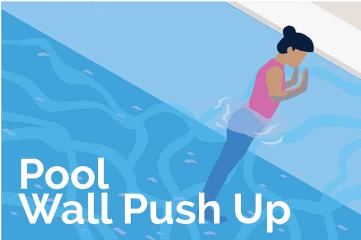 Pool Wall Push Up