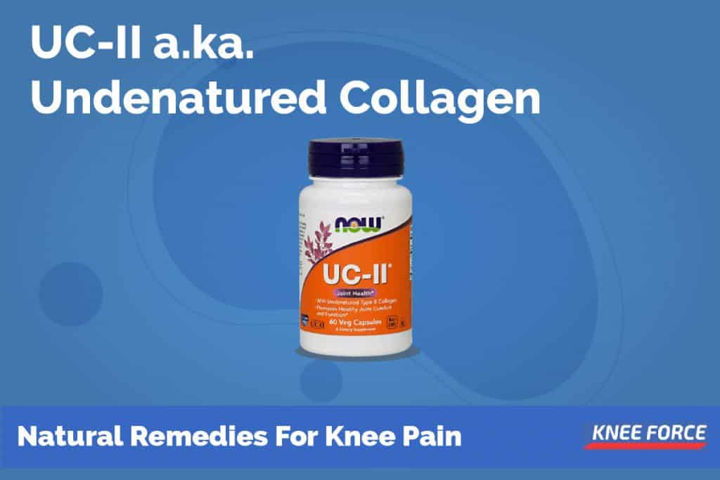 UC – II a.k.a. Undenatured Collagen Is 2-3 Times More Effective Than Glucosamine