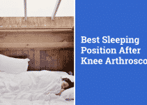 It has been found that the best position to sleep in post-surgery is to sleep on your back