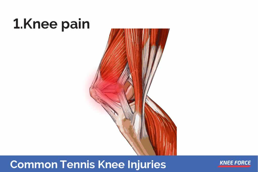 There are many possible causes, such as chondromalacia, the softening of the cartilage in the patella, or tendonitis.