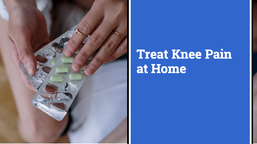 tablets, medicine, how to treat knee pain at home