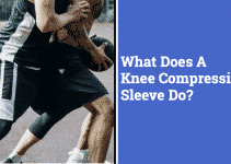 boys playing basketball, man wearing knee compression sleeves while playing