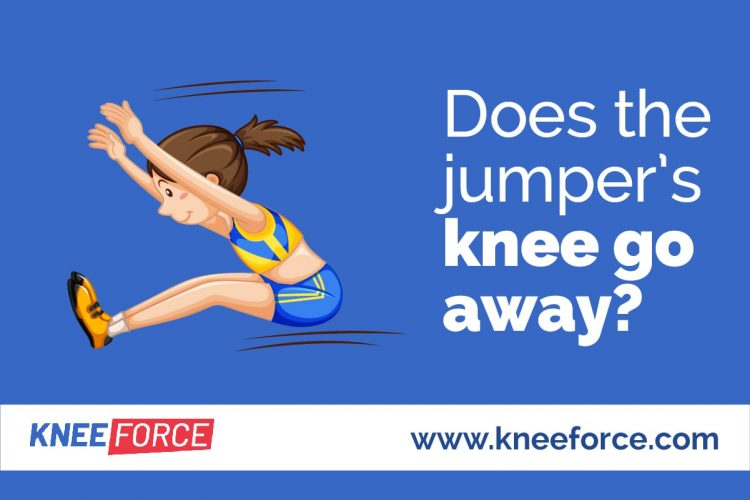 Treatment for a jumper's knee can for the most part take a long time