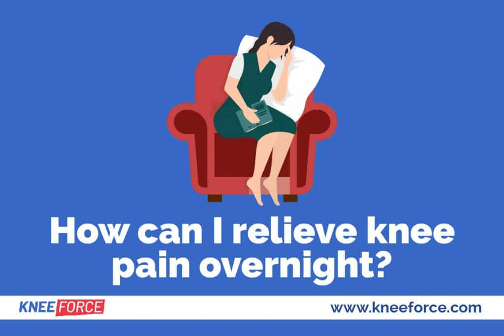 Knee inflammation usually worsens during the day when the joint is in use
