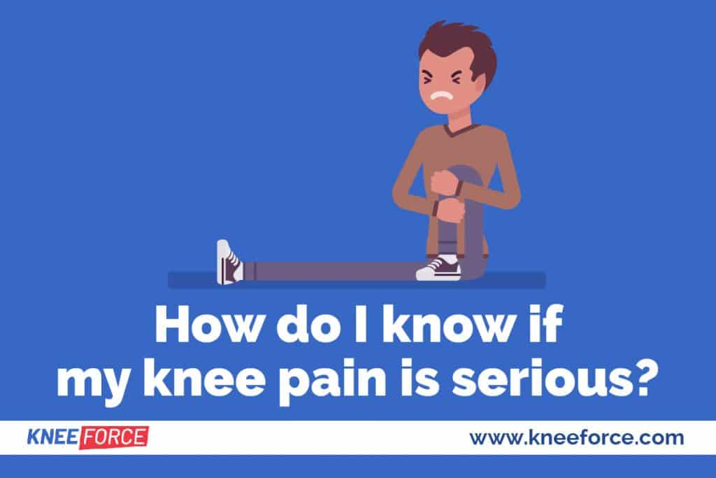most obvious signs that a knee injury has occurred is excessive swelling that you can see or feel.