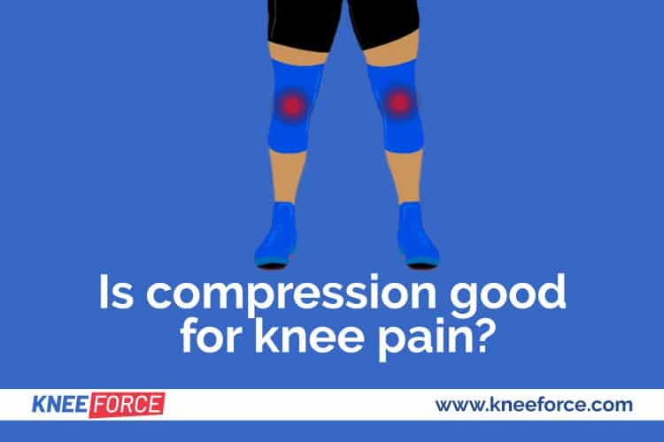 placing the sleeve on your knee can improve the pain and also improve the sense of stability for the joint