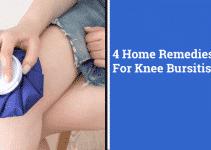 4 Home Remedies For Knee Bursitis | Feel Better At Home